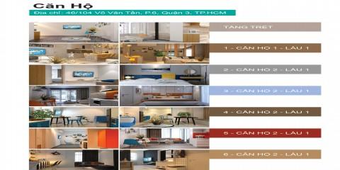 Bảng giá căn hộ cho thuê Estar
